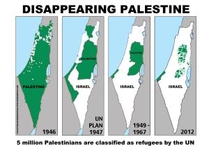 4 maps palestine